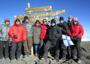 MOUNT KILIMANJARO-MARANGU ROUTE 5 DAYS TREKKING