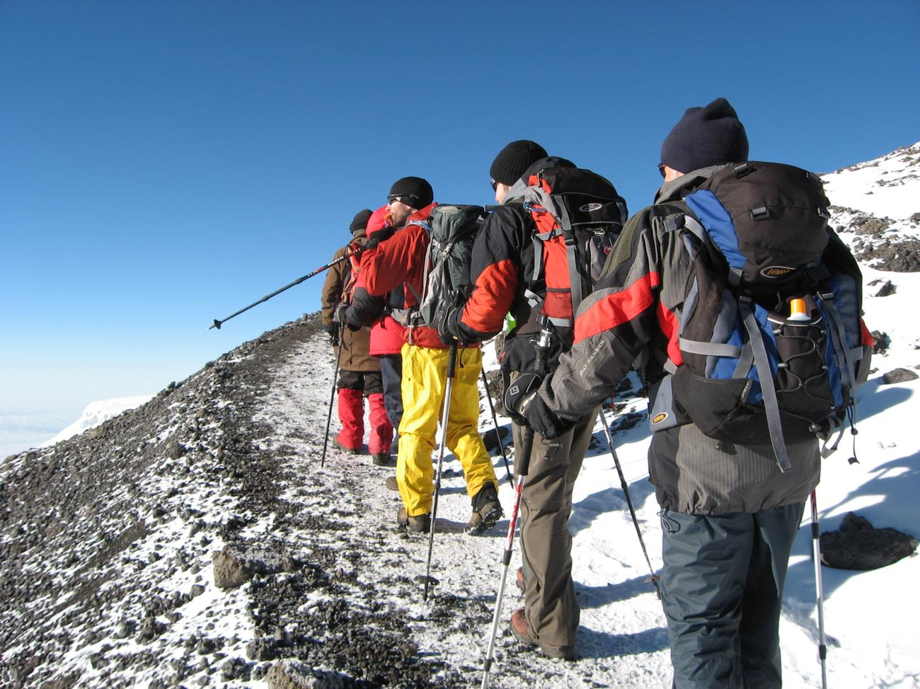 MOUNT KILIMANJARO-LEMOSHO ROUTE 7 DAYS TREKKING