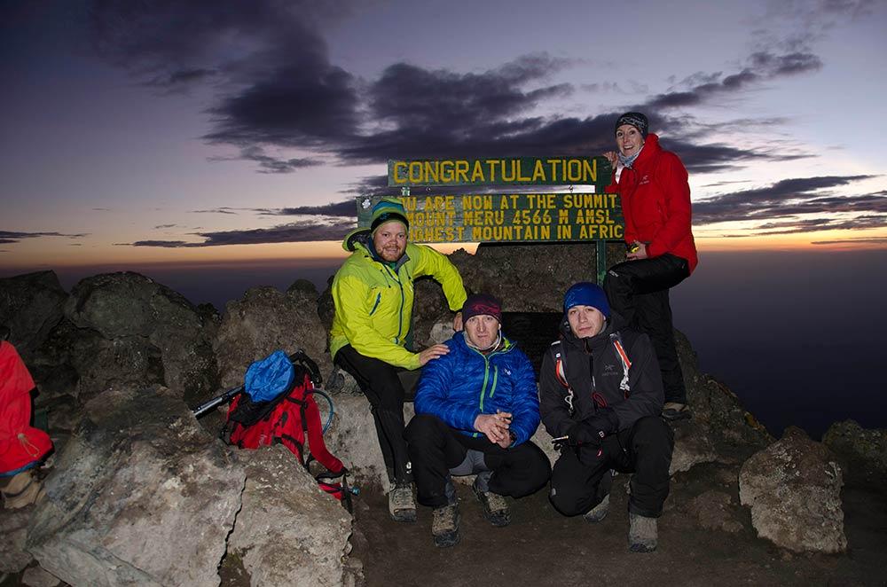 3 Day Mount Meru Trekking