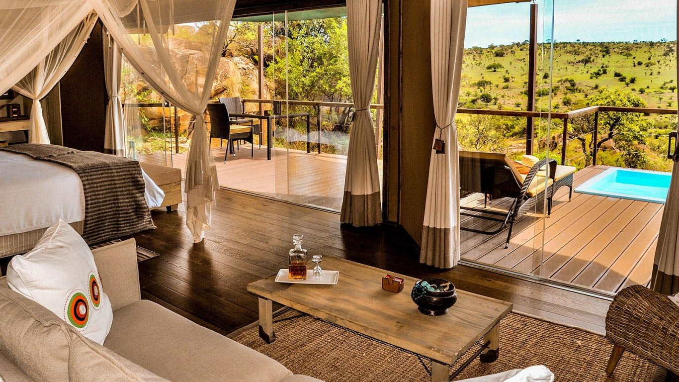 7 Day Serengeti Luxury Wilderness Lodges Safari