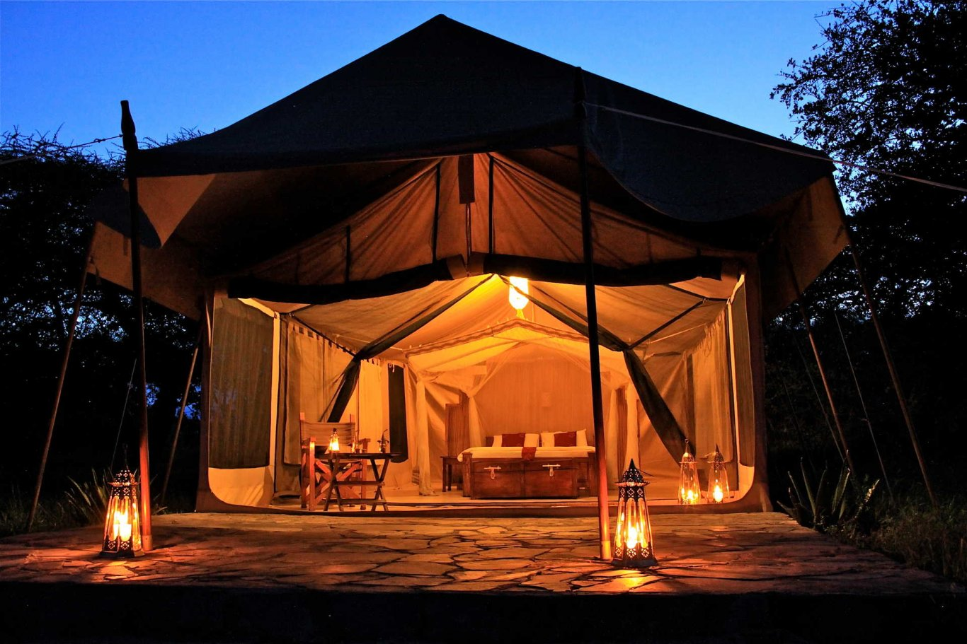 7 Day Tanzania Private Tented Camps Safari